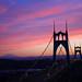 St. Johns Bridge Sunrise