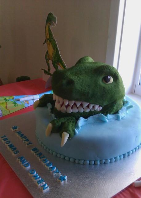 How To Make A Godzilla Cake