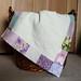 lavender doll quilt 2