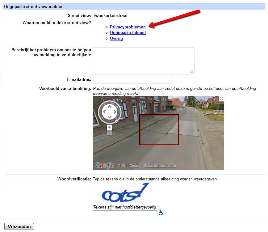 Google streetview hoe foto van je huis laten verwijderen for Huis zichtbaar maken google streetview