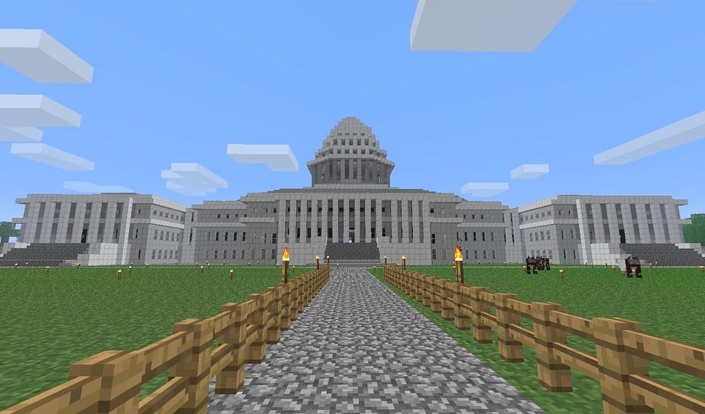 Washington DC Capitol Minecraft Jeppi94