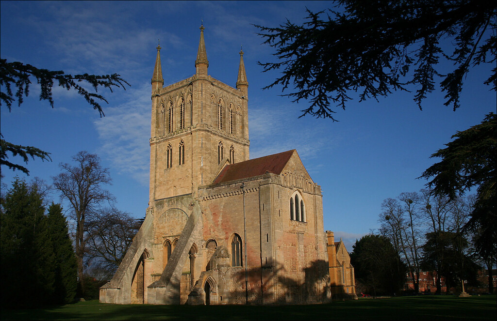 Pershore Abbey History Pershore Abbey i