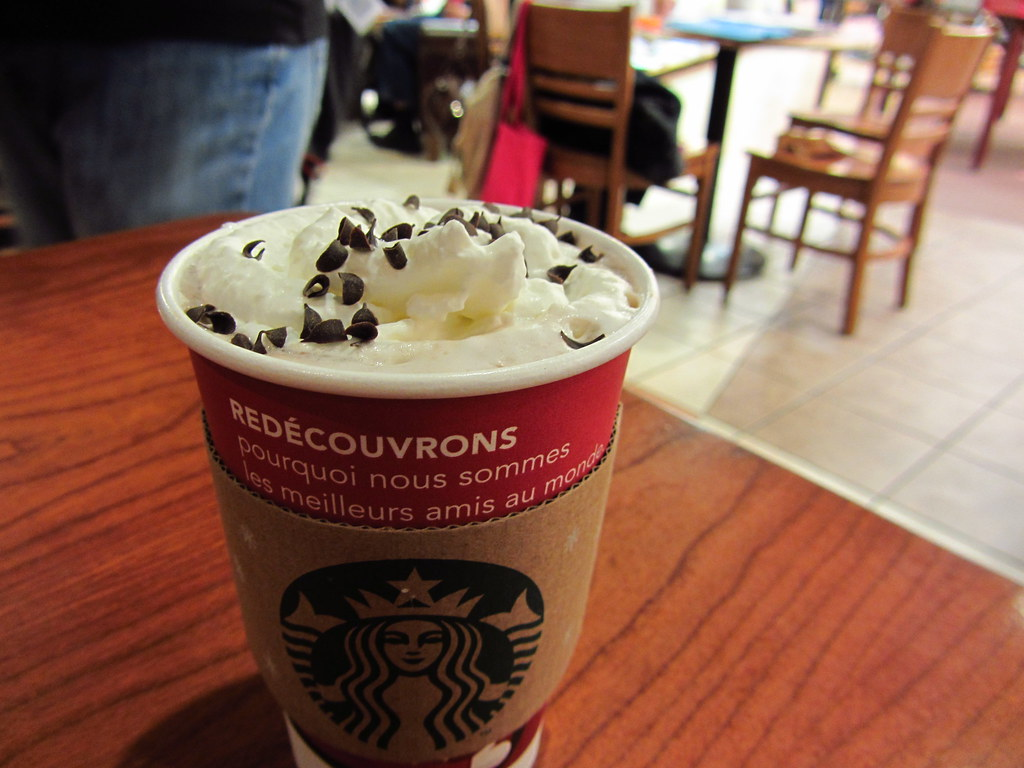 Image result for white chocolate peppermint mocha