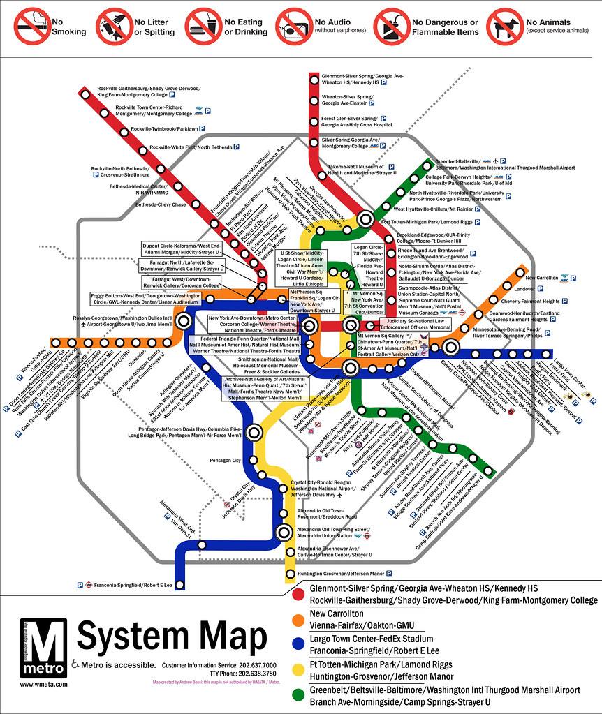 Map Of Washington Dc Landmarks Bellissimonyc Com