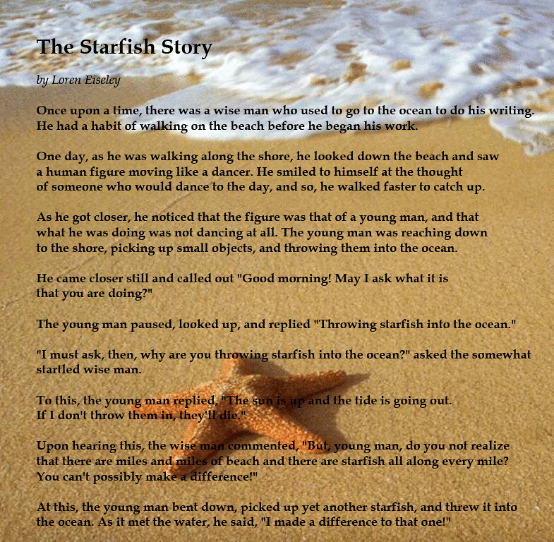 starfish-story | Ray MacLean | Flickr