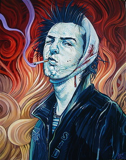 """Vicious Vangogh"" Print Now Available 