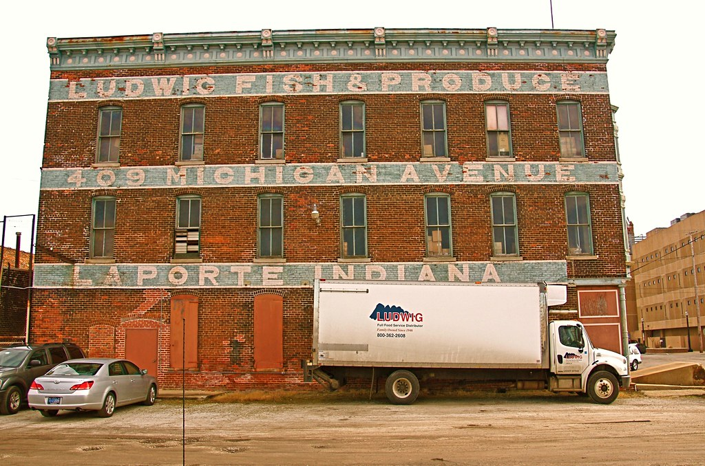 Ludwig fish produce laporte in this building along for Laporte county building department