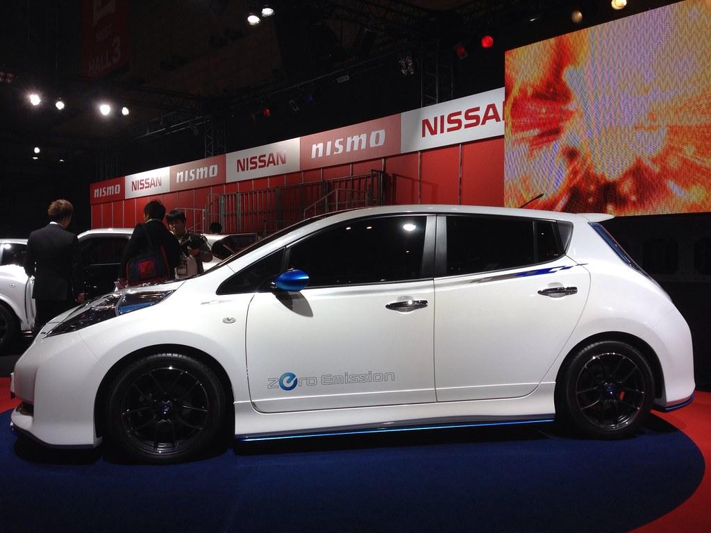 Nissan leaf nismo concept nissan motor co ltd flickr for Nissan motor co ltd