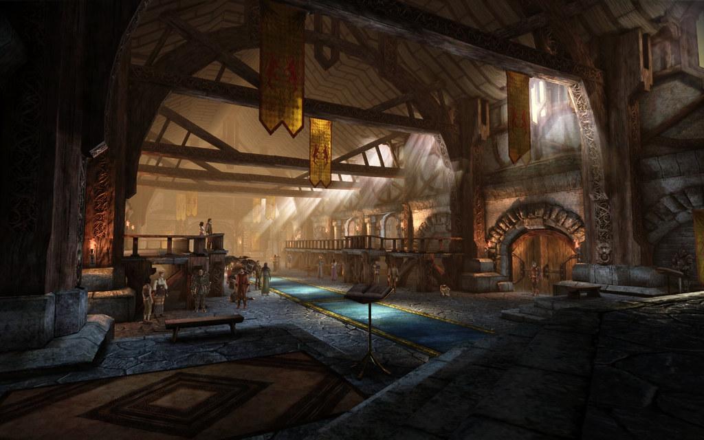 Denerim Royal Palace 04 | About Us: fantasy-art.tel More ...