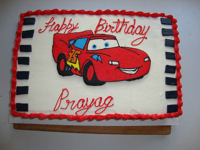 Lightning Mcqueen Sheet Cake Lightning mcqueen full sheet