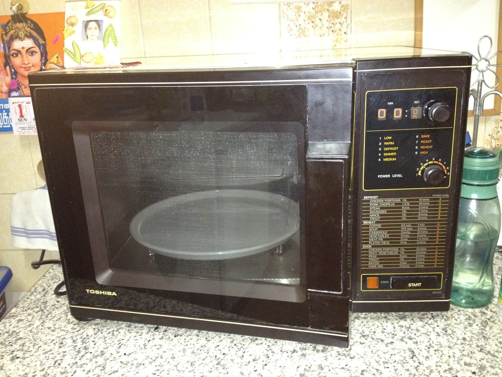 1980s Toshiba Microwave For More Than 25 Years My Family