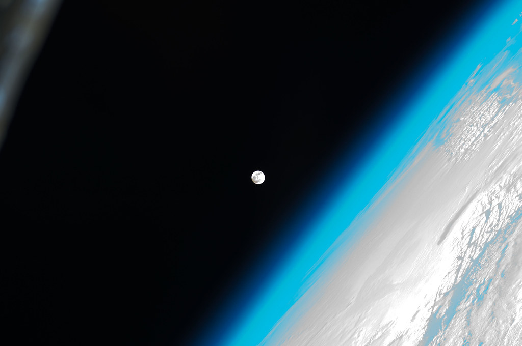 Image Gallery nasa space station moon