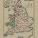 Section XX Map page of England and Wales under the House of Lancaster from Part IV of Historical atlas of modern Europe from the decline of the Roman empire : comprising also maps of parts of Asia and of the New world connected with European history