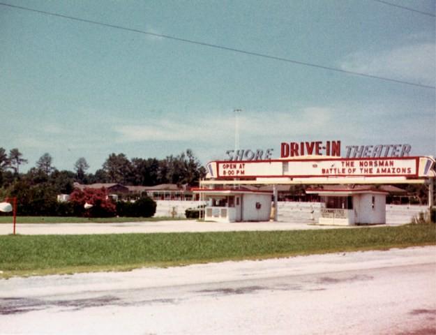Virginia Beach Va The Shore Drive In Theatre 1978 Flickr