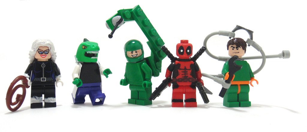 All My Custom Marvel Guys | Alex Yermilov (Don't even try ...