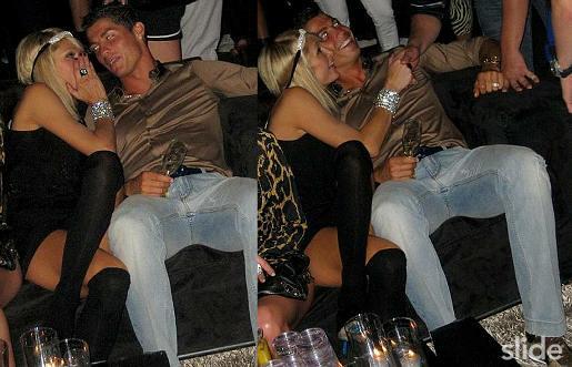Paris Hilton et Cristiano Ronaldo
