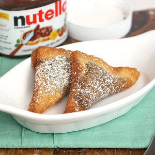 Nutella Ravioli | by Tracey's Culinary Adventures