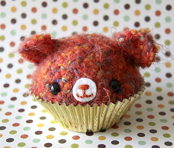 Peelable Orange Amigurumi : Amigurumi Orange Cupcake Bear Jou Ling Yee Flickr