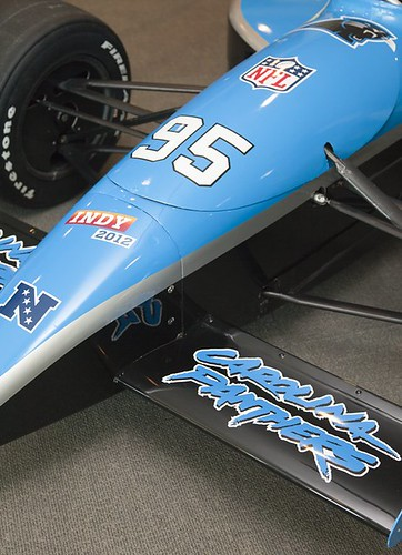 Carolina Panthers Super Car at the IMA | by IMA - Indianapolis Museum of Art