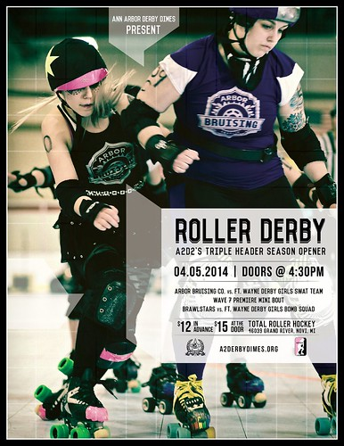 4.5.2014 Season Opener (8.5x11) | by Ann Arbor Derby Dimes