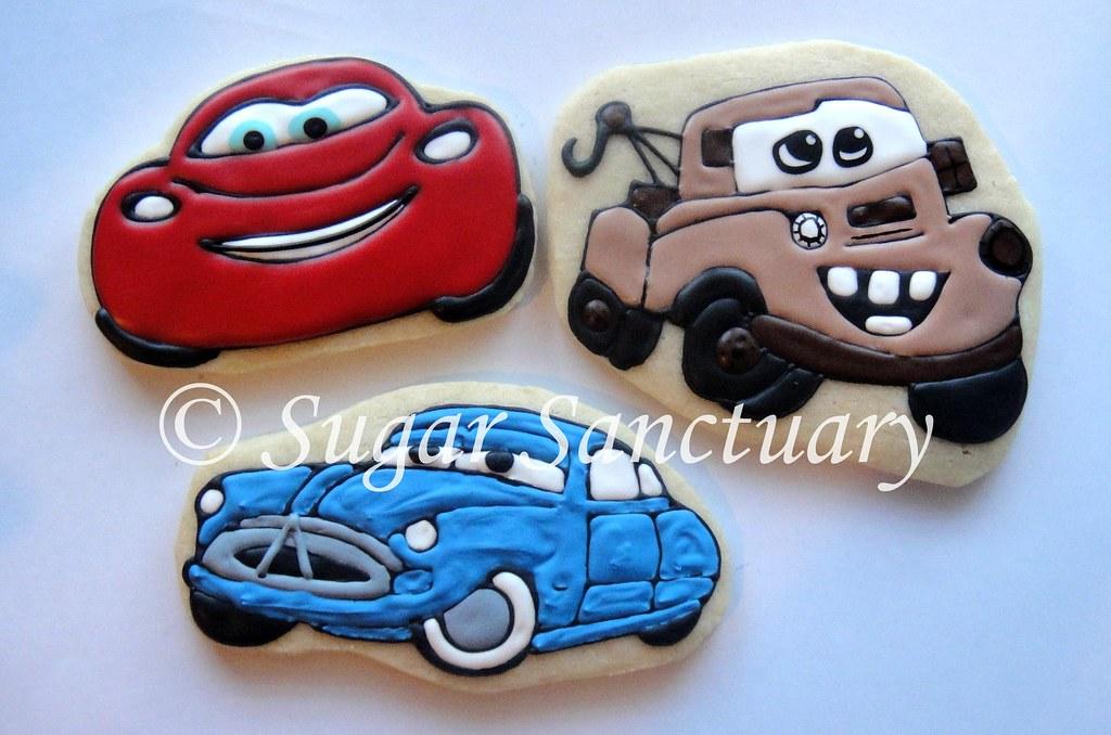 Cars Themed Cookies | ...A Beka