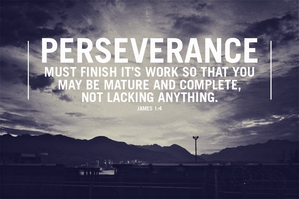 Persistence Quotes For Work: Quoted From James 1:4 - I Liked