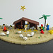 LEGO Christmas nativity scene