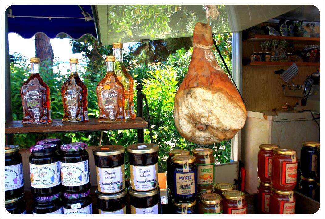 corsica market ajaccio