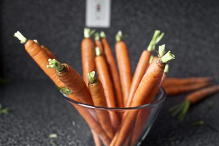 carrots, trying to be artsy | by smitten kitchen