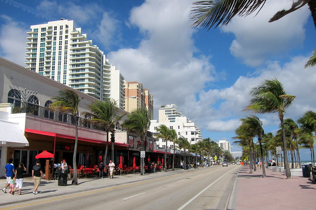 Fort Lauderdale A1a The Most Popular Section Of Fort