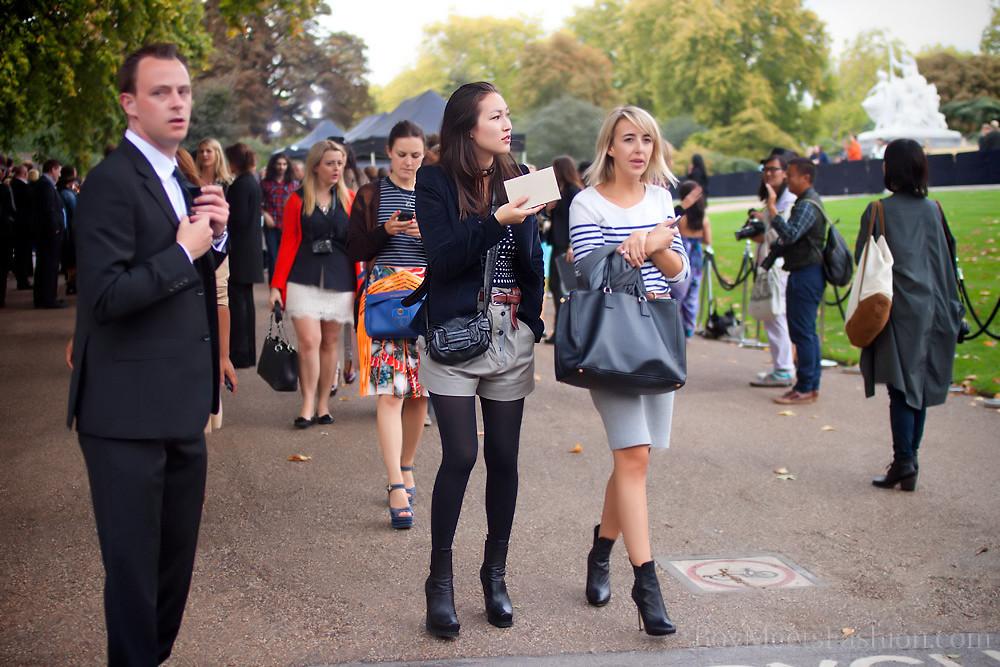 Burberry Show London Fashion Week