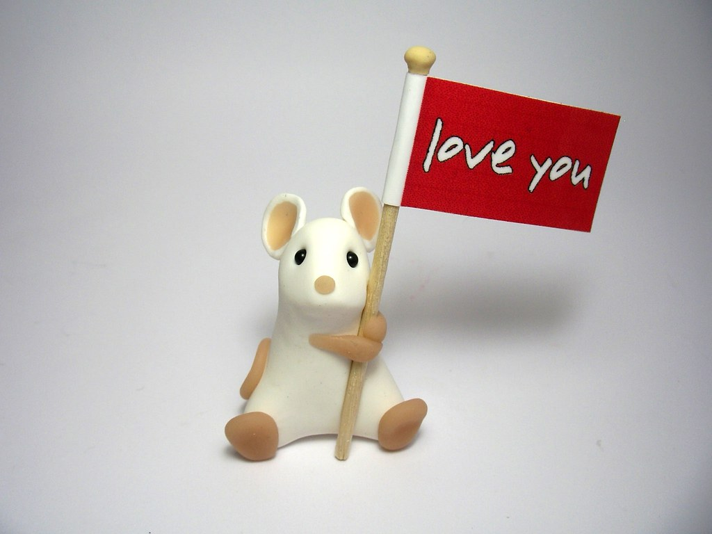 Love You' Mouse | Say it with a Mouse :) | Kirsten Miller | Flickr