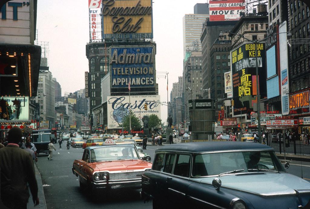 Times Square  New York City  U2013 1964