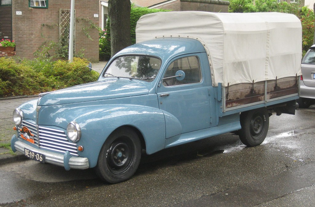 1950 peugeot 203 u8 pick up plateau b ch e amsterdam n flickr. Black Bedroom Furniture Sets. Home Design Ideas