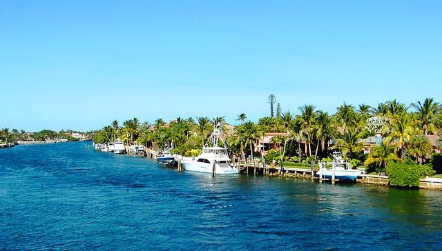 Boca Raton Shopping >> Intercoastal Waterway, Boca Raton, Florida | Photo taken ...