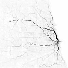 Paths through Chicago