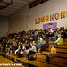 Students at Basalt High School watch the ACE Assembly