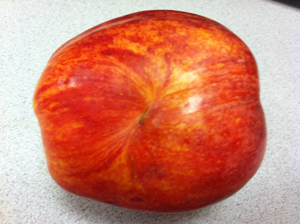 Black hole on my apple? | Is there a black hole on my ...
