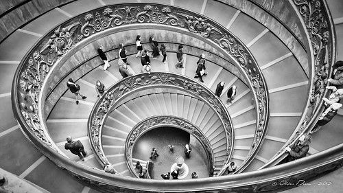 escalier en double spirale du vatican flickr photo. Black Bedroom Furniture Sets. Home Design Ideas
