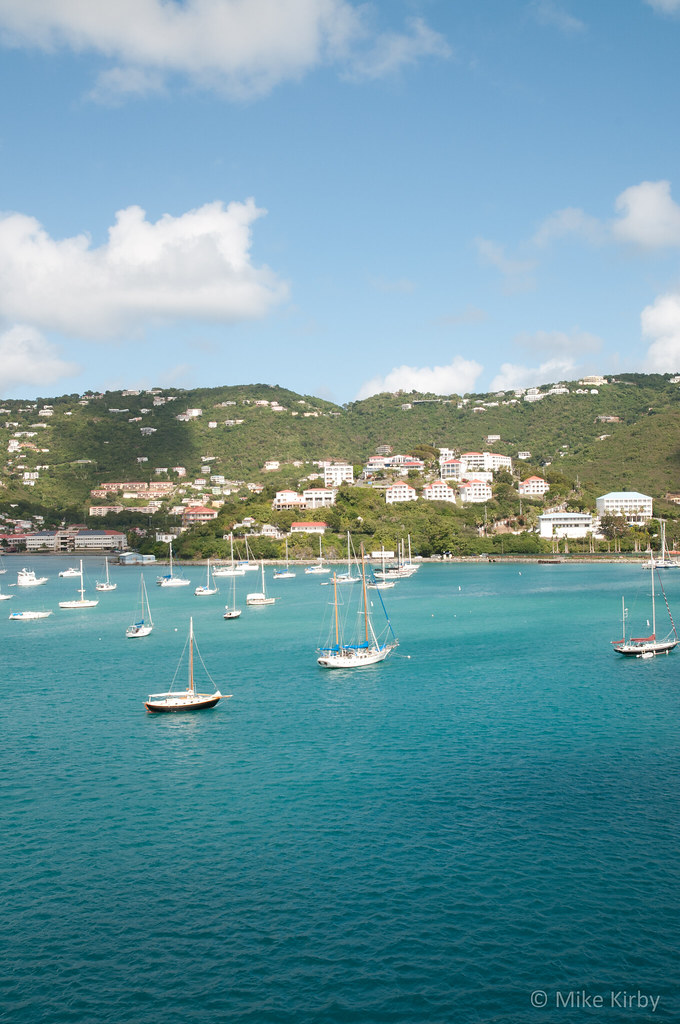 Msk2555 Jpg The Port Of Charlotte Amalie St Thomas Us