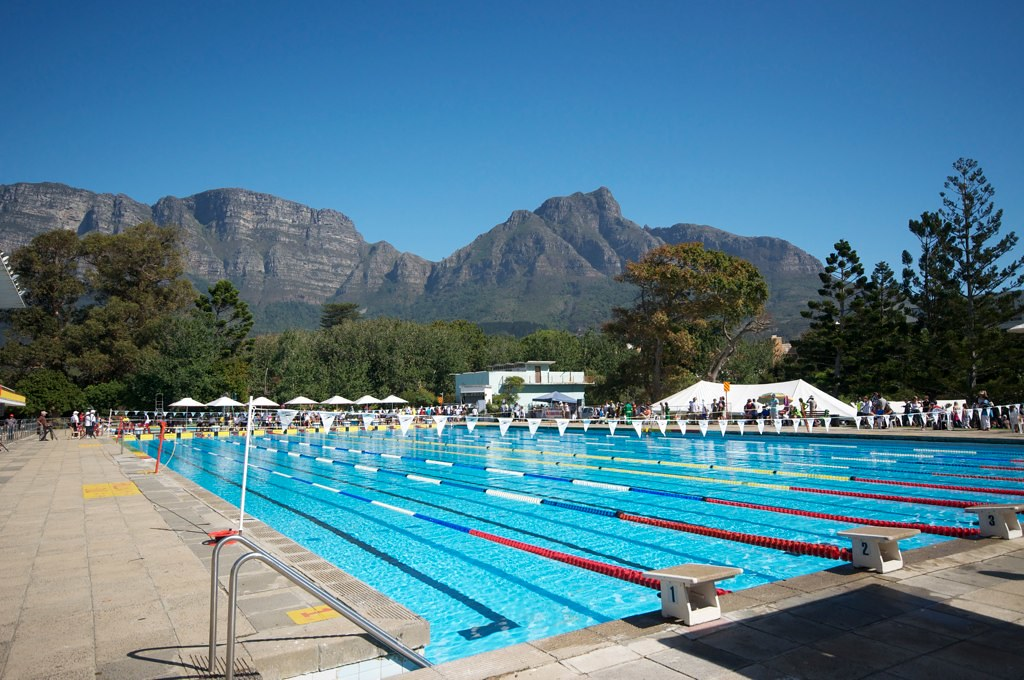 Newlands Swimming Pool Capetown Venue For Provincial Shool Flickr