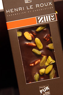 chocolate pistachio bar | by David Lebovitz