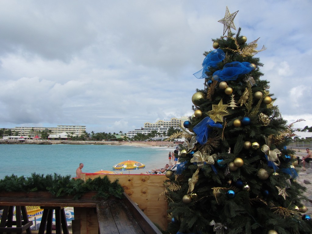 Whit Christmas Tree