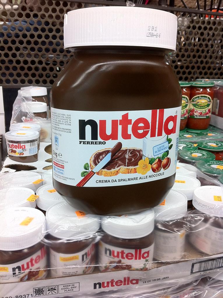 5kg of nutella at buon italia in chelsea market meatpack flickr. Black Bedroom Furniture Sets. Home Design Ideas
