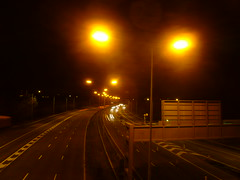 M5 SOX Lighting - Looking Southbound at J4a