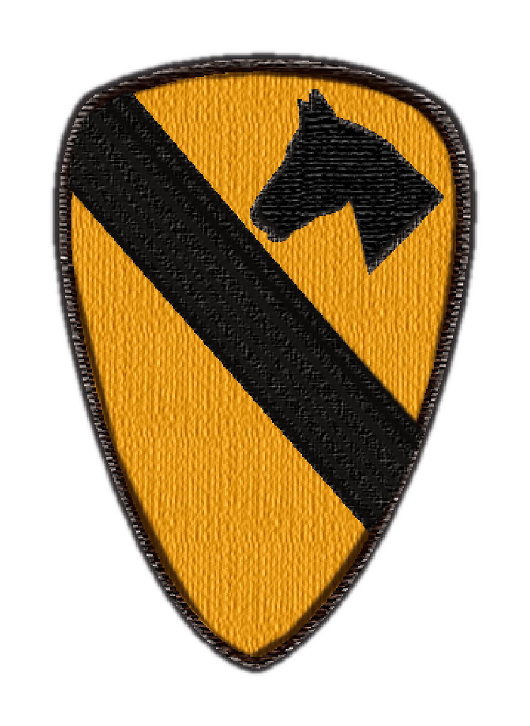1st Cavalry Patch 1st Cavalry Patch