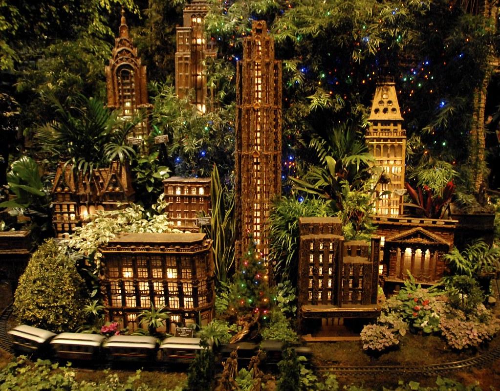Bronx Botanical Gardens Holiday Train Show Anne Dunne Flickr