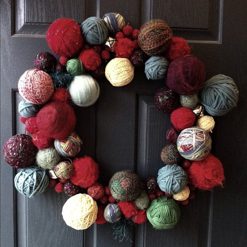 Balls & bells & beady crabapples: finished before Christmas!!! #2012xmas