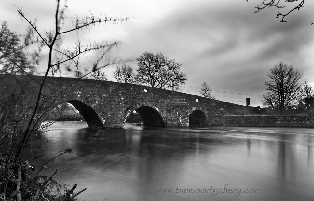Dipping Bridge Merthyr Mawr Bridgend S Wales At The