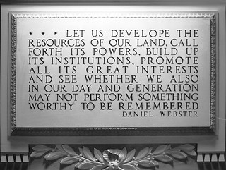 Quotation from Daniel Webster Plaque | by USCapitol